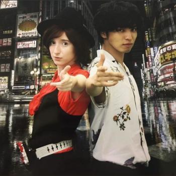 Amber w/ Renn Kiriyama!